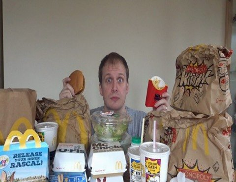 Man Eats McDonald's For Seven Days And Still Loses Weight