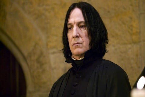 Alan Rickman Was Frustrated With ''Severus Snape'' Role In Harry Potter