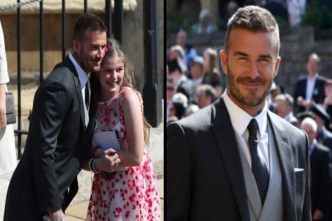 Manchester Arena Bombing Survivor Thrilled With David Beckham Selfie during Royal Wedding