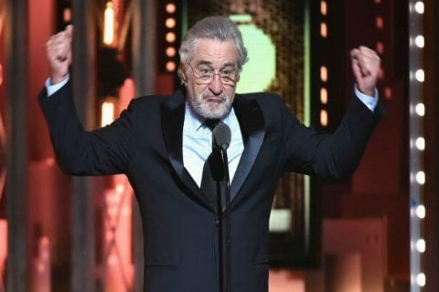 Robert De Niro Shouts 'F*** Trump' During Tony Awards, Gets Standing Ovation