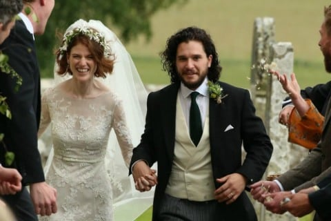 Game of Thrones Stars Kit Harrington and Rose Leslie Wed