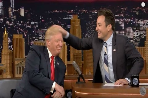 "Donald Trump Slams Jimmy Fallon, Asks Him to ""Be A Man"""
