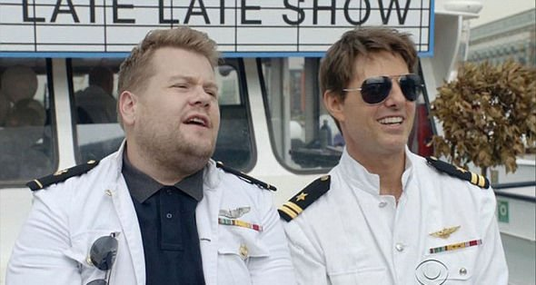 Tom Cruise challenges James Corden To A Skydiving for the First Time- He said YES!