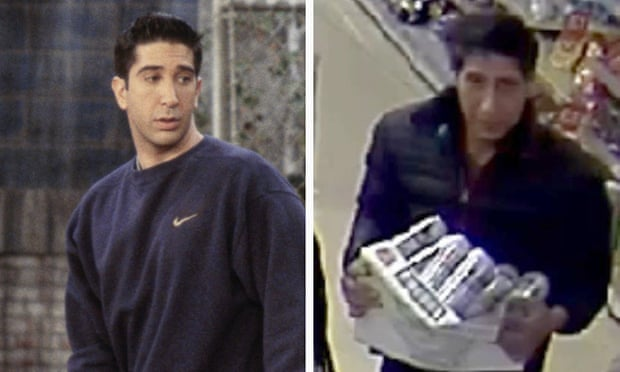 Blackpool police hunt David Schwimmer 'lookalike' suspect and posted his picture Facebook