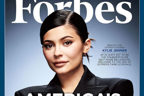 At Only 21 Years Old, Kylie Jenner Is Now the Youngest 'Self-Made' Billionaire