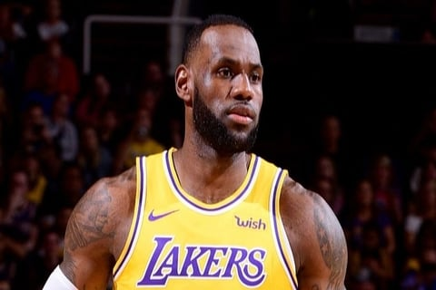 Rest for the King – LeBron James of the Los Angeles Lakers won't play anymore this season