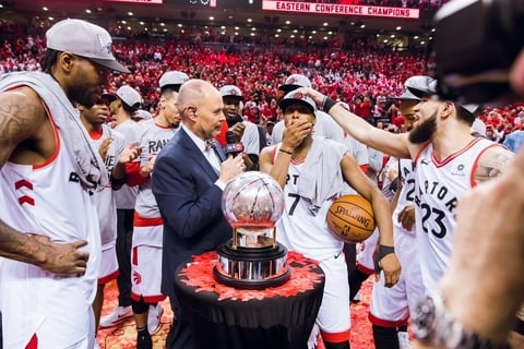 For the first time ever – The Raptors are in the NBA finals!