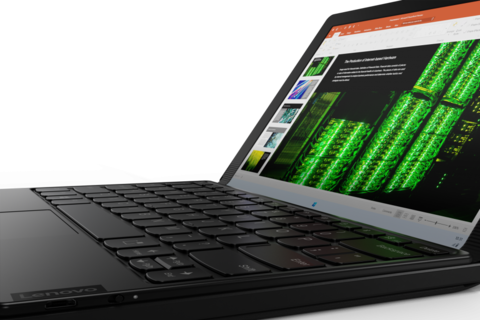 Lenovo Announced on a New Folding Laptop